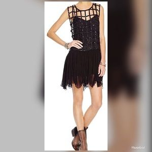 NWT Free People gorgeous sequin cage dress